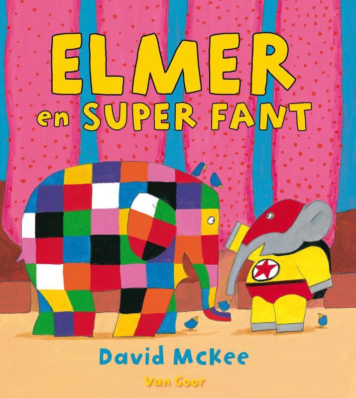 Recensie: Elmer en Super Fant, David McKee