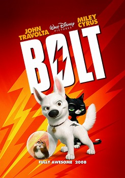 Filmrecensie: Bolt (Walt Disney, 2008)